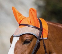 Bridleway Visibility Orange Fly Veil