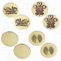 In-hand Bridle Brass Rosettes from Elico
