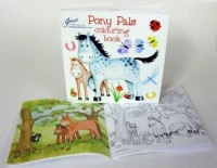 Pony Pals Colouring Book with Crayons