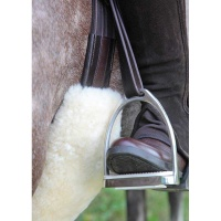 Lambskin Girth Sleeve from Bridleway