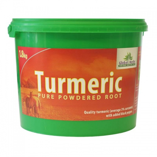 Pure Turmeric powered root from Global Herbs 1.8kg