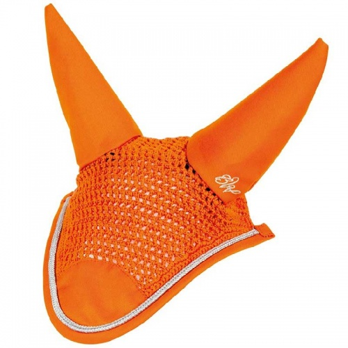 Bridleway Signature Fly Veil Orange Cob/Full Only